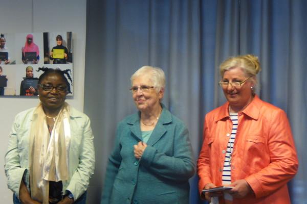3 lauréates concours écriture regards de femmes en transit